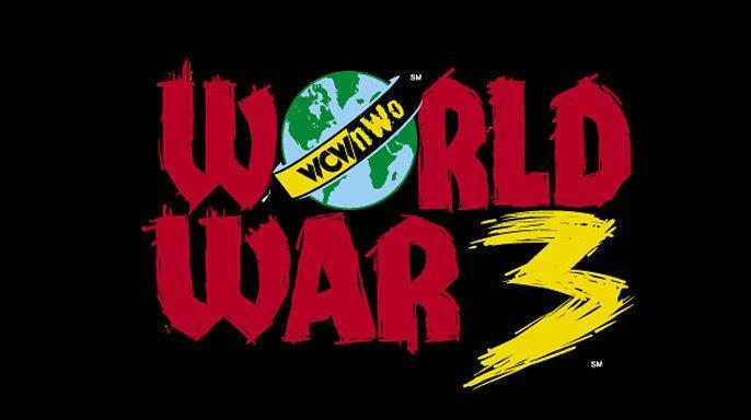 World War 3 was home to the three-ring 60-man battle royal.